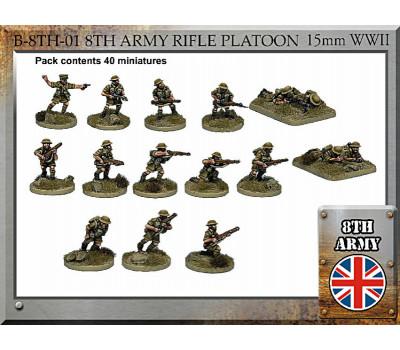 B-8TH-01 British Army Rifle Platoon