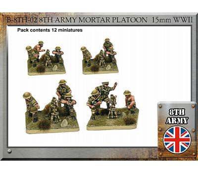B-8TH-02 British Army Mortar Platoon