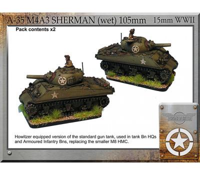 A-35 M4A3 Sherman (wet) 105mm