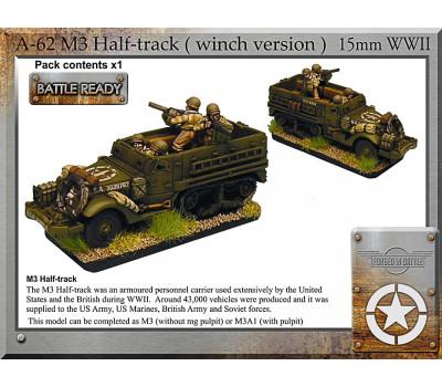 A-62 M3 halftrack + winch x1