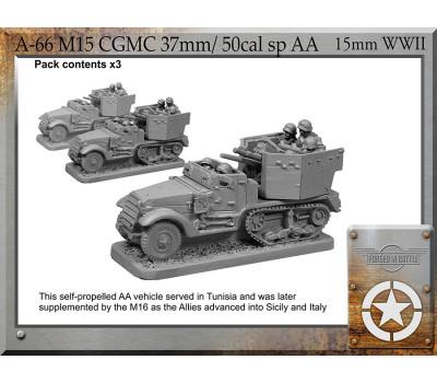 A-66 M15 CGMC 37mm/50cal sp AA