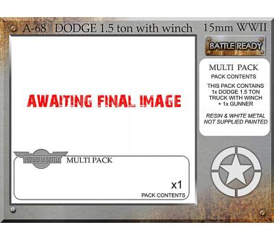A-68 DODGE 1.5 Ton/Winch x 1