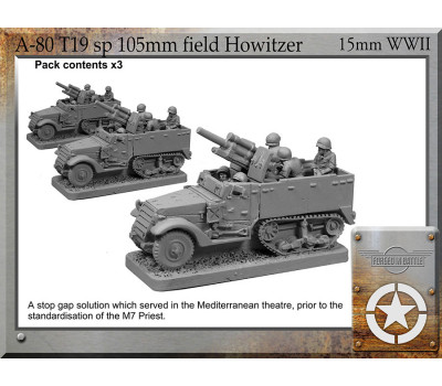 A-80 T19 sp 105mm field howitzer