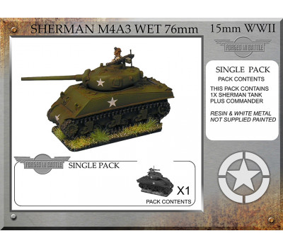 A-32-ONE Sherman M4A3 wet 76mm (1 tank)