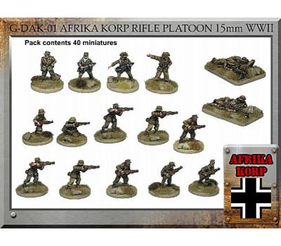 G-DAK-01 Afrika Korps Rifle Platoon
