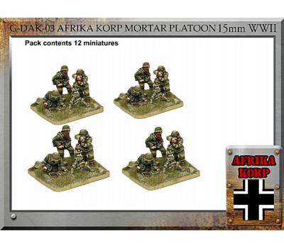 G-DAK-03 Afrika Korp Mortar Platoon