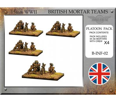 B-INF-02 British 3in Mortar Teams