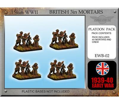 EWB02 Early War British 3in Mortars
