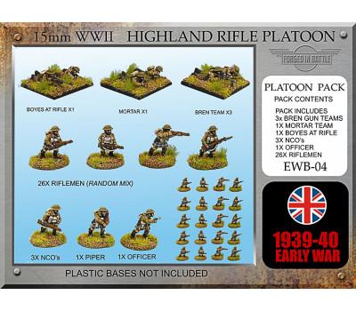 EWB04 Early War Highland Platoon