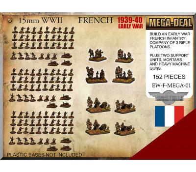 EW-F-MEGA-01 French Infantry Mega Deal
