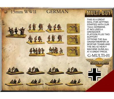 G-MULTI-01 German Infantry Multi-Buy