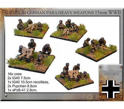 G-PARA-04 German Para Heavy Weapons