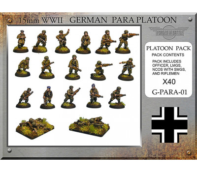 G-PARA-01 German Paratrooper Platoon