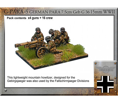 G-PARA-05 G Para 7.5cm GebG36