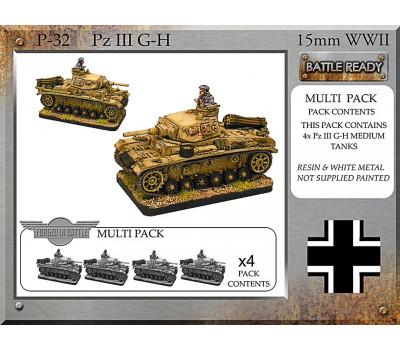 P-32 PzIIIG-H x 4