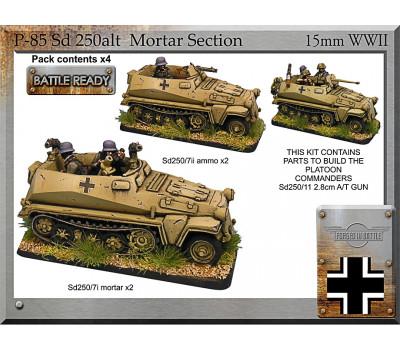 P-85 Sd250alt mortar section