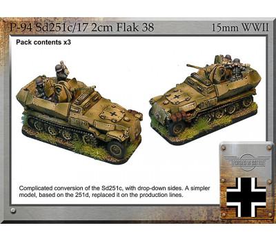 P-94 Sd251c/17 2cm Flak38