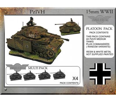 P-44 Pz IVH-G Platoon Tanks