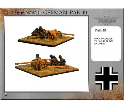 G-72 Pak 40 Guns and Crew