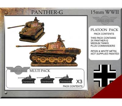 P-52 Panther G Platoon Tanks