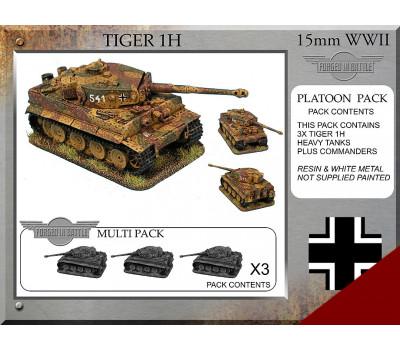 P-62 Tiger 1H Platoon Tanks