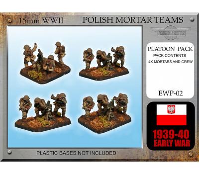 EWP02 Early War Polish Mortar Teams 81mm
