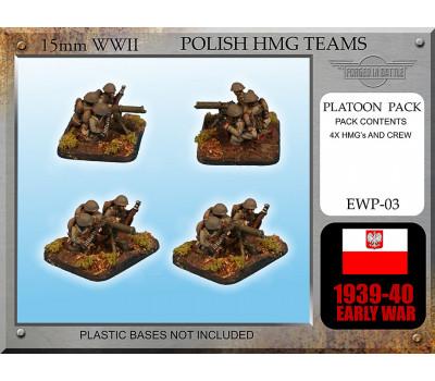 EWP03 Early Ckm wz. 30 HMG Teams