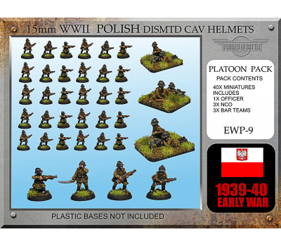 EWP09 Polish Cavalry Dismounted (Helmet)