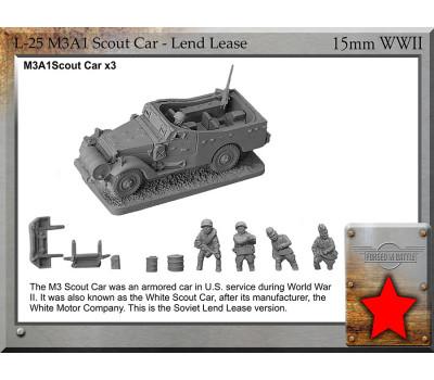 L-25 Lend/lease M3A1 White Scout Car