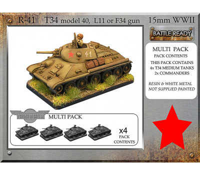 R-41 T-34 m40 L11 or F34 x 4