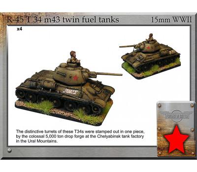 R-45 T-34 m43 twin fuel tanks