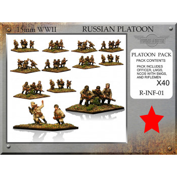 R-INF-01 Russian Infantry Platoon