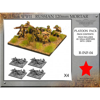 R-INF-04 Russian 120mm Mortar Platoon