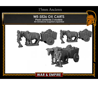WE-S26 Ox Carts Pack