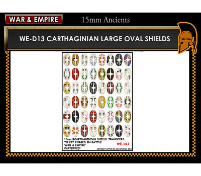 WE-D13 Cathaginian large oval shields