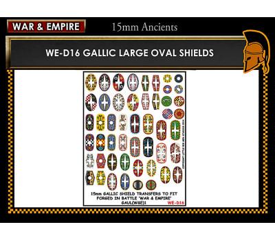 WE-D16 Gallic large oval shields
