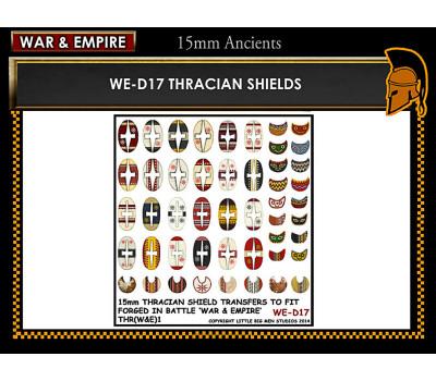 WE-D17 Thracian shields