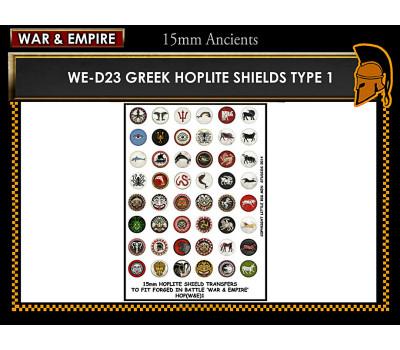 WE-D23 Greek Hoplite Shields (Type 1)