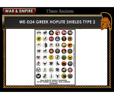 WE-D24 Greek Hoplite Shields (Type 2)
