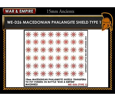 WE-D26 Macedonain Phalangite Shield (Type 1)