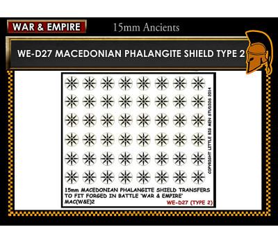 WE-D27 Macedonain Phalangite Shield (Type 2)