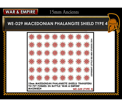 WE-D29 Macedonain Phalangite Shield (Type 4)