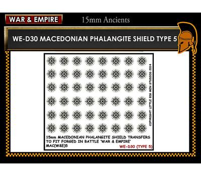 WE-D30 Macedonain Phalangite Shield (Type 5)