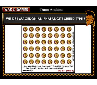 WE-D31 Macedonain Phalangite Shield (Type 6)