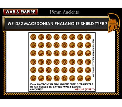 WE-D32 Macedonain Phalangite Shield (Type 7)