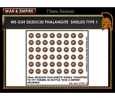 WE-D34 Seleucid Phalangite Shields (Type 1)