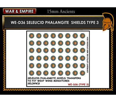 WE-D36 Seleucid Phalangite Shields (Type 3)