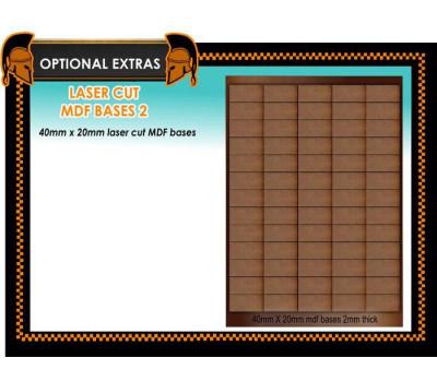 WE-X02 Laser Cut MDF Bases