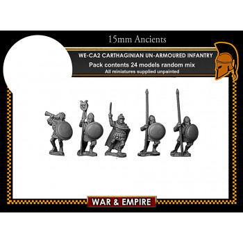WE-CA02 Carthaginian Unarmoured African Foot