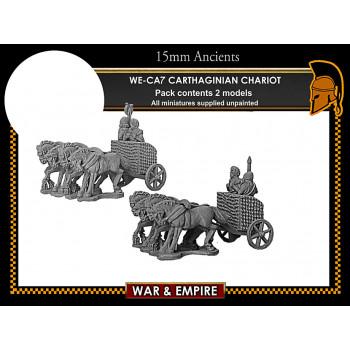 WE-CA07 Carthaginian 4-Horse Chariots